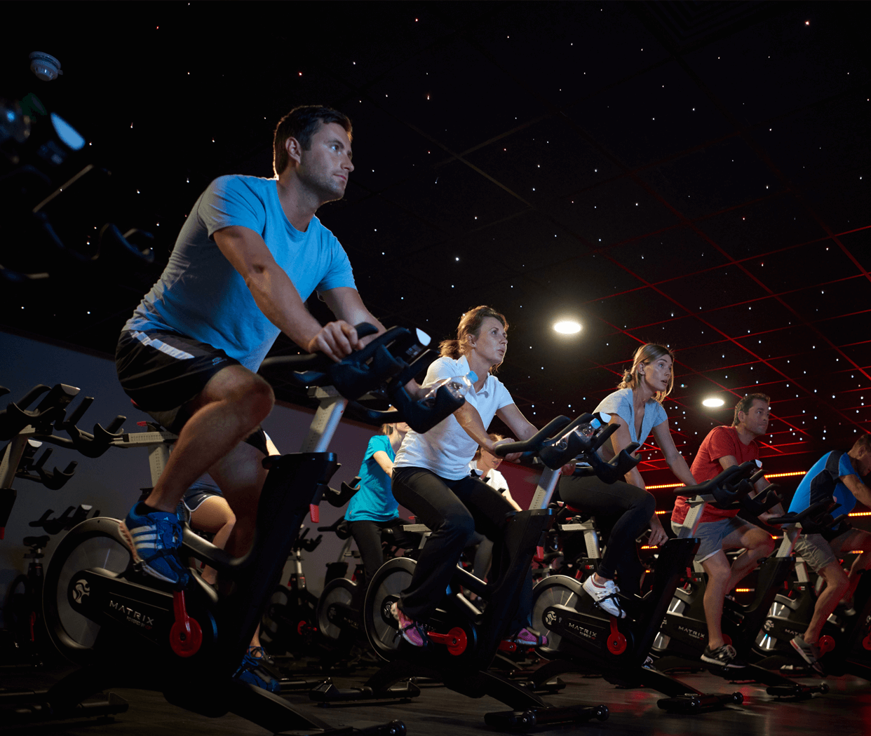 HIIT Group Cycling