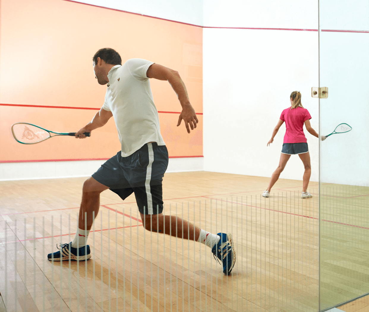 Squash Club Session